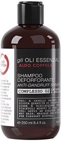 Aldo Coppola Oli Essenziali Anti-Dandruff Shampoo