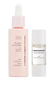 Miriamquevedo Black Baccara Hair Multiplying Scalp Concentrate + Pre-Treatment Exfoliator